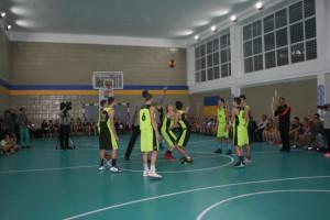 Під час ігор відкриття Київської Шкільної Баскетбольної Ліги. Фото надані школою № 275