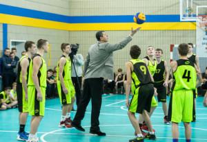 Під час ігор відкриття Київської Шкільної Баскетбольної Ліги. Фото Андрія Посонського