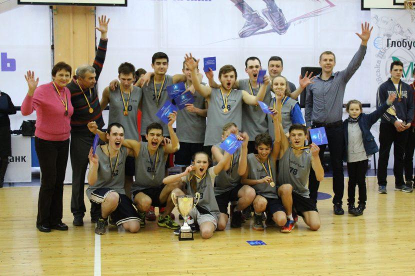 Учні школи-інтернату №18 перші чемпіони Київської шкільної баскетбольної ліги