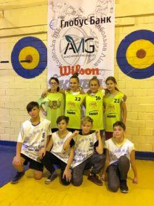 Під час ігор змагань КШБЛ 2017−18 по баскетболу 3×3 учнів Оболонського району