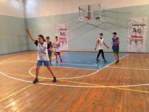 Під час ігор фіналу з баскетболу 3×3 у Голосіївському районі