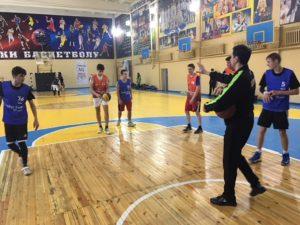 Під час ігор фіналу з баскетболу 3×3 у Солом'янському районі