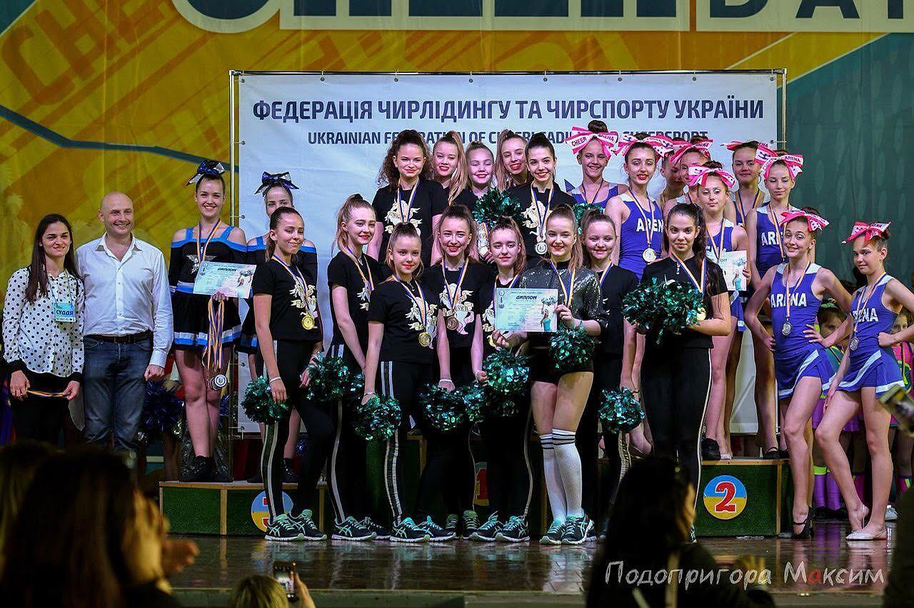 Спеціальний гість Фіналу КШБЛ 2017-2018 чірлідінг-студія №1 в Україні - ReD FOXES