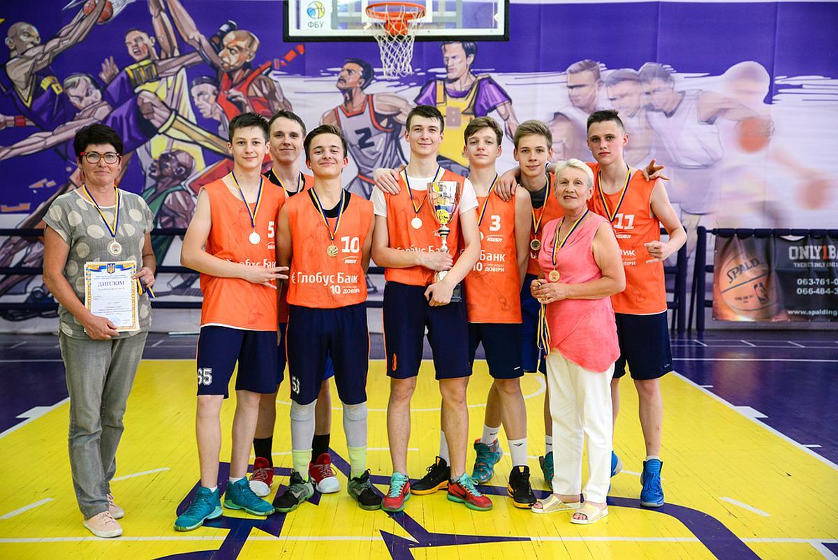 Переможець КШБЛ сезону 2017-2018 року команда Середньої Загальноосвітньої Школи №277