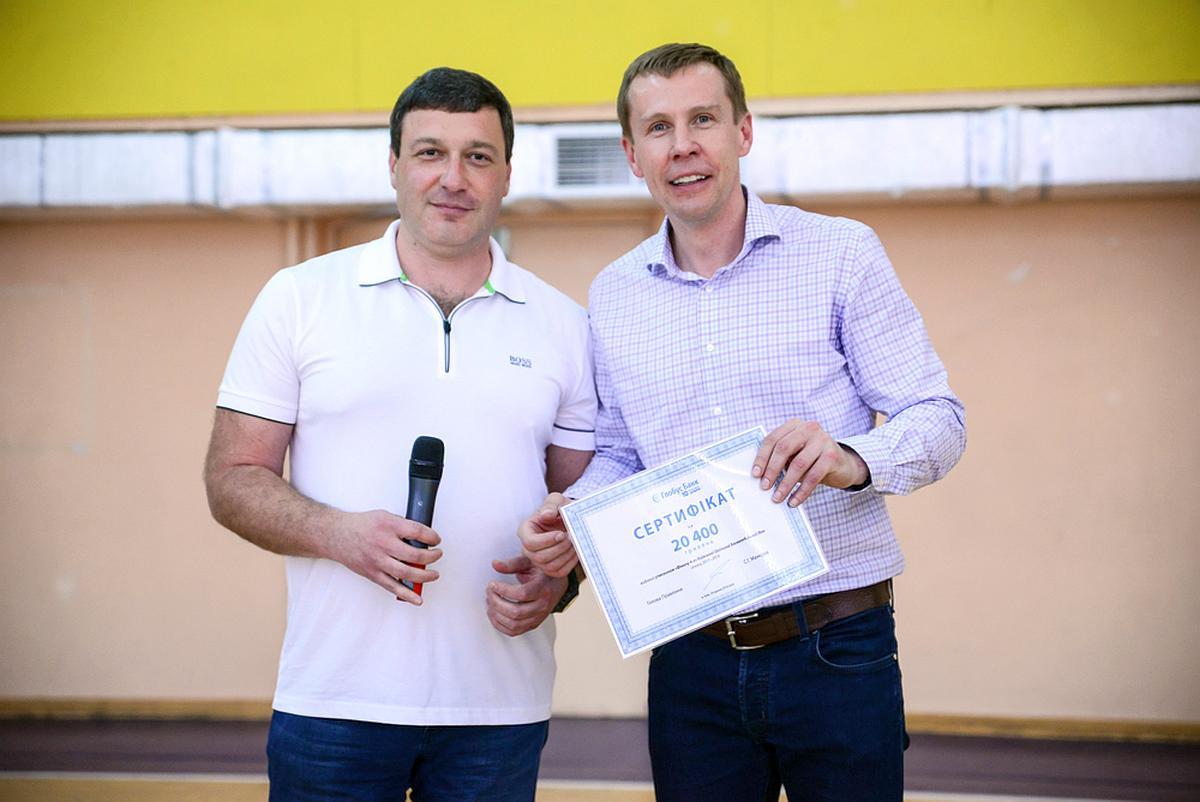 Сергій Мамедов (на фото зліва) и Дмитро Базелевський
