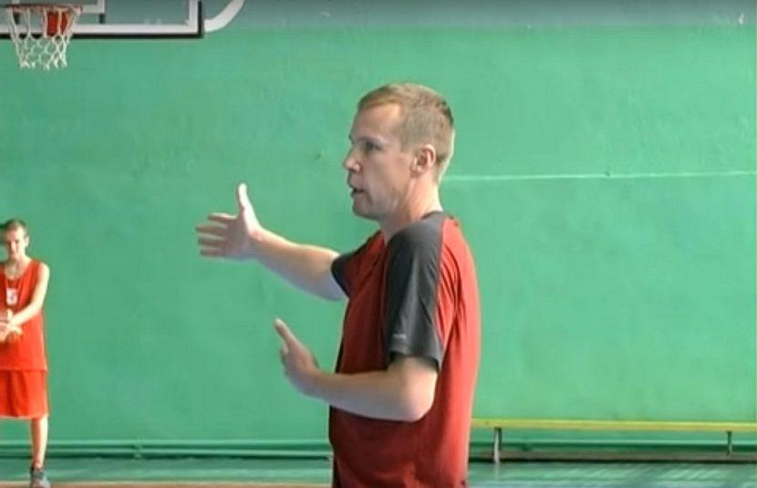 Майстер-клас Дмитра Базелевського з баскетболу в Алчевську