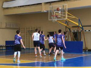 Під час ігор першого півфіналу КШБЛ 2018-19 з баскетболу 5×5